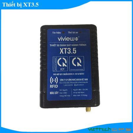 Thiết bị giám sát hành trình hợp chuẩn XT3.5 - Sở hữu nhiều tính năng vượt trội.