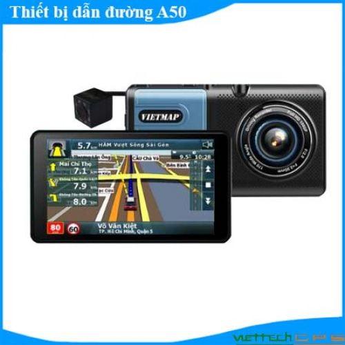 Camera hành trình A50 hỗ trợ dẫn đường thông minh