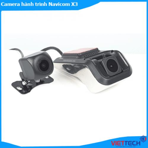 Camera hành trình Navicom X3 cho Màn Android, ghi 2 kênh