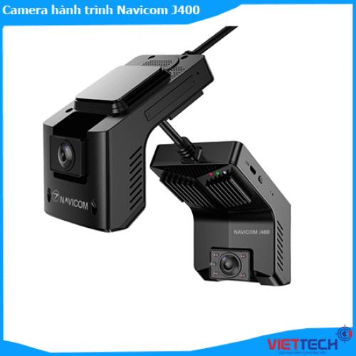 Camera hành trình Navicom J400 Online ghi trước và trong xe