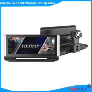 Camera Hành Trình Vietmap D22 Đặt Taplo, Báo Tốc Độ, GPS, Dẫn Đường Wifi