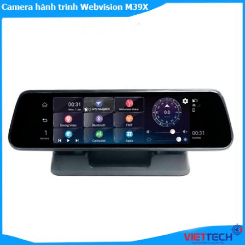 Camera hành trình Webvision M39X Voice Dạng Gương Cao Cấp Nhất