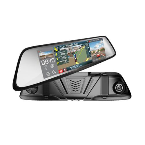 Vietmap G79 Camera hành trình gương vừa dẫn đường vừa ghi hình