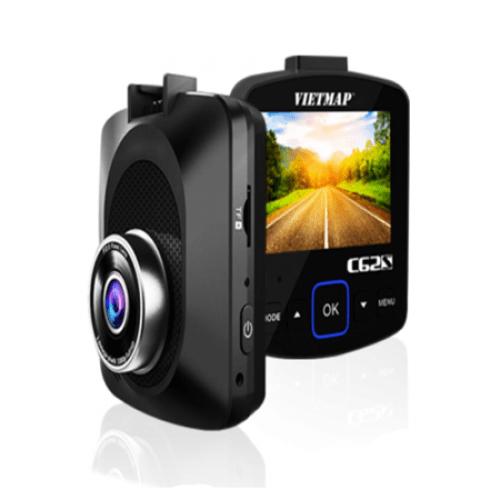 Bộ Camera Hành Trình C62S Vietmap Ghi Hình Trước Sau Ultra 4K Cảnh Báo Tốc Độ