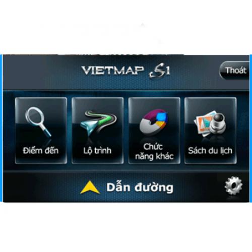 Phần mềm Vietmap S1 dùng cho Màn Android Ô TÔ
