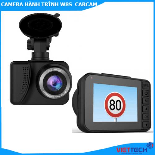Camera hành trình W8S Carcam GPS Wifi - Trợ lí cảnh báo
