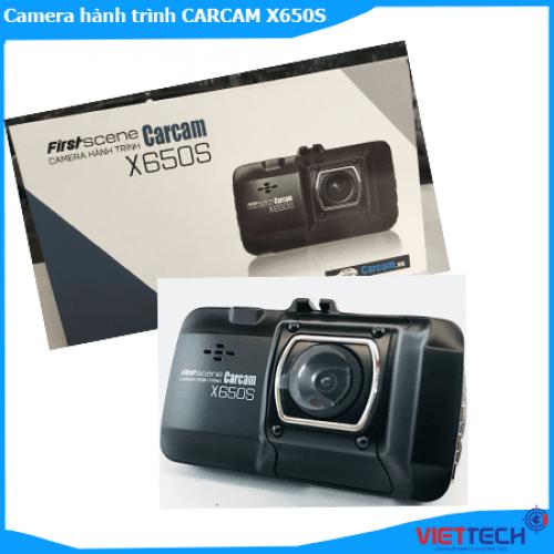 Camera hành trình CARCAM X650S FIRSTSCENE GHI HÌNH TRước Sau Siêu Nét.