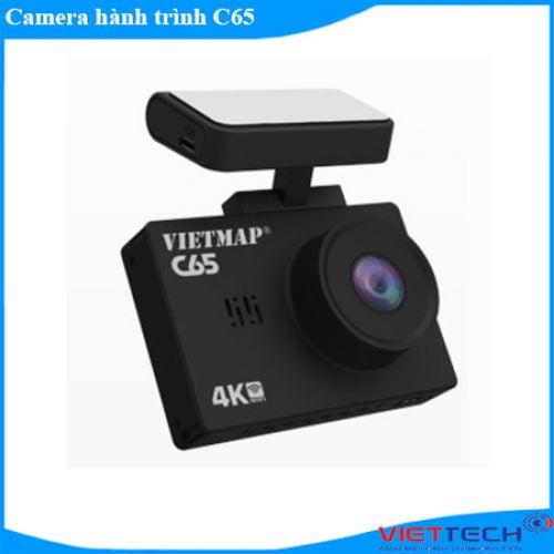 Camera hành trình Vietmap C65 Cao Cấp Độ Nét Ultra 4K Ghi Hình 2 Kênh Trước Sau