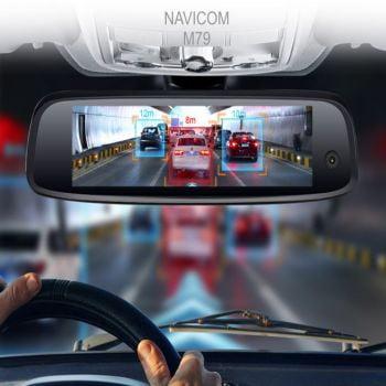 Camera hành trình Navicom M79 Plus ba mắt xem online định vị xe từ xa