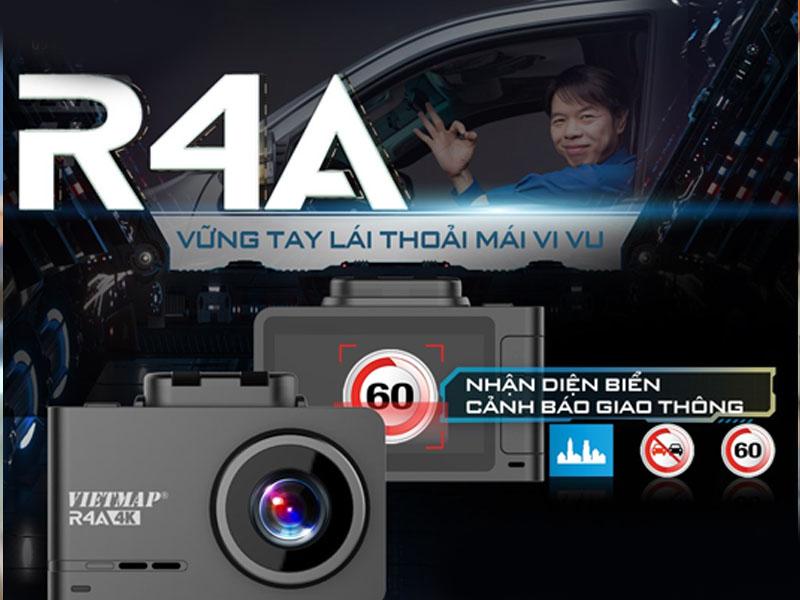 camera hành trình vietmap r4a tại thiên nam auto