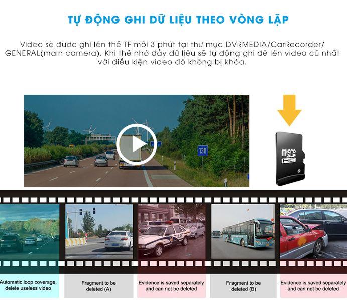 Camera hành trình gương Xiaomi D07